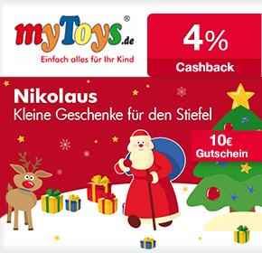 LEGO bis zu 40% reduziert + 10€ Gutschein + 4% Cashback bei myToys