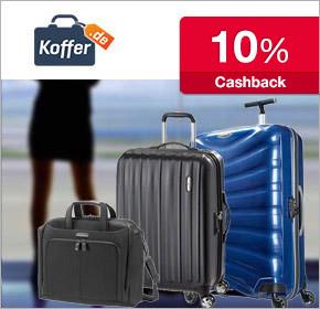 Neu bei Shoop.de: Koffer.de mit 10% Cashback auf deine Bestellung.