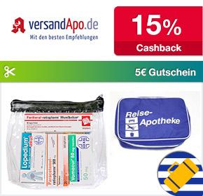 Shoop.de im Reisefieber: Versandapo mit bis zu 15% Cashback und 5€ Gutschein