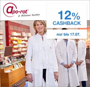 apo-rot Versandapotheke: 12% Cashback