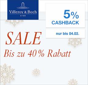 Villeroy & Boch: bis zu 40% Rabatt im Winter Sale + 5% Cashback