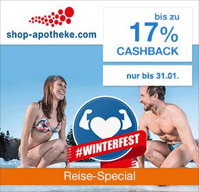 Shop-Apotheke: Bis zu 17% Cashback [Reisefieber 2017]