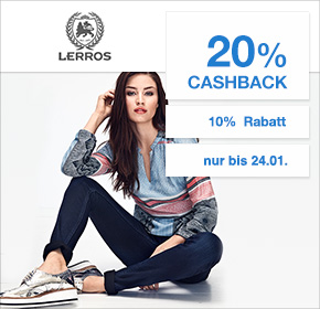 Lerros: 20% Cashback + 10 Rabatt und bis zu 50% im aktuelle SALE sparen